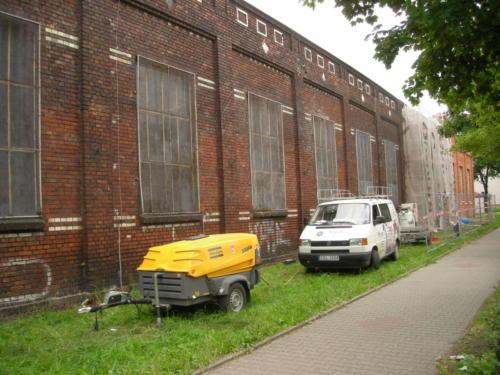 czyszczenie budynku firmy zamep