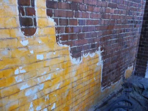czyszczenie cegły